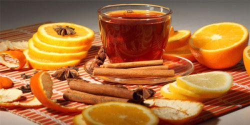 Чай с апельсиновой цедрой