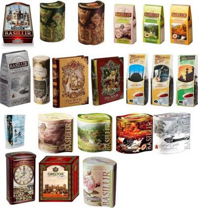 Виды чайной упаковки