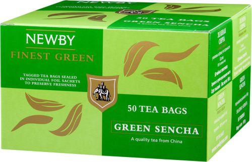 Зеленый чай Ньюби