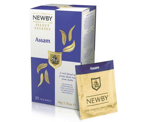Пакетированные чаи Ньюби