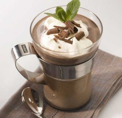 Мятно-шоколадный кофе
