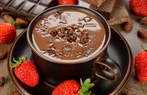 Классический кофе с шоколадом
