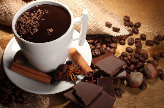 Кофе, пряности и шоколад