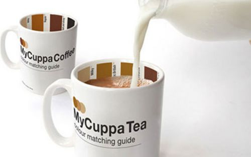 Кружка для кофе с палитрой