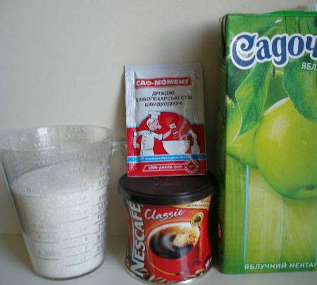 Продукты для кофейного кваса