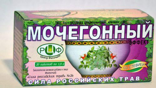 Мочегонный чай из аптеки