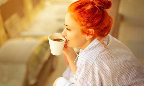 Хорошее настроение с чашкой кофе
