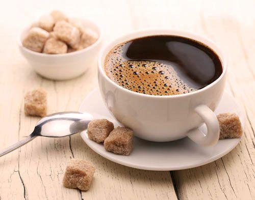 Кофе с коричневым сахаром