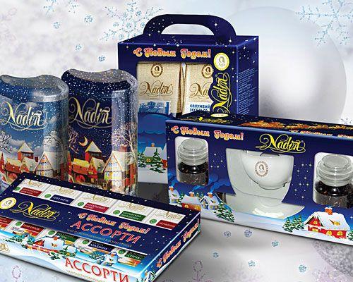Новогодние наборы Nadin