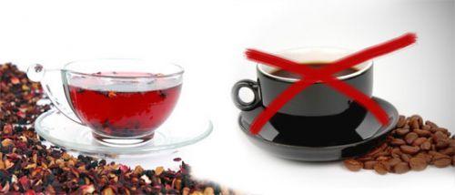 Чай вместо кофе