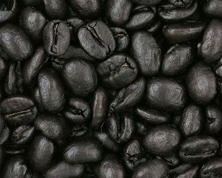 Зерна темной обжарки