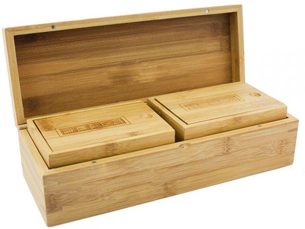 Деревянная упаковка для чая