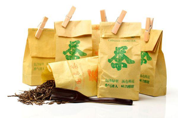 Чай в бумажных пакетах