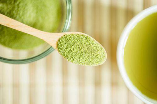 Зеленый чай для масок