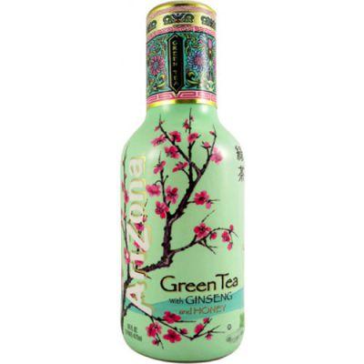 Зеленый чай Аризона с женьшенем