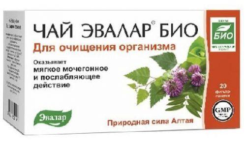 Очищающий чай Эвалар био