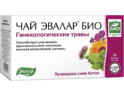 Гинекологический чая Эвалар био