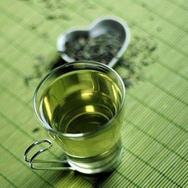 Заваренный чай Ганпаудер