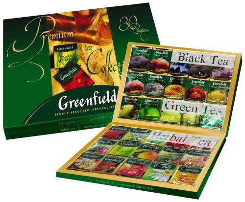 Подарочная упаковка чая Гринфилд