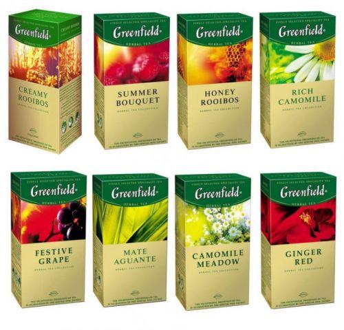 Коллекция травяных чаев Гринфилд