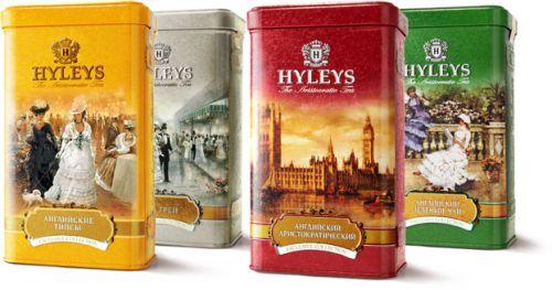 Коллекция чая Hyleys