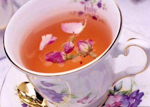 Чай с цветками