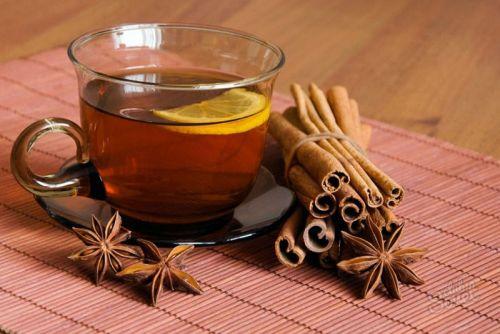 Чай с лимоном и со специями