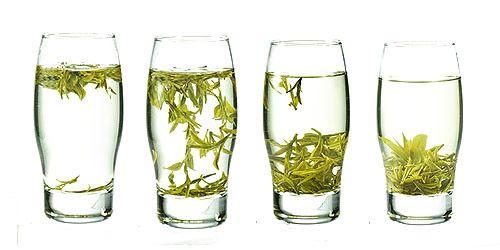 Танцующие чаинки чая Лунцзин