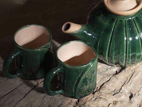 Керамическая посуда для чая