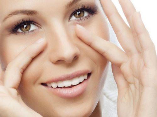 Здоровая кожа вокруг глаз