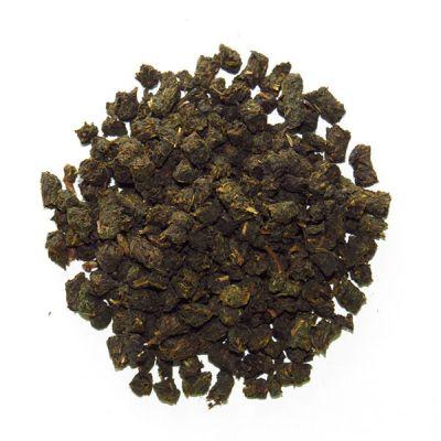Гранулированный ферментированный чай из малиновых листьев
