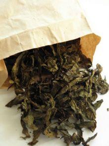 Ферментированный чай из листьев смородины