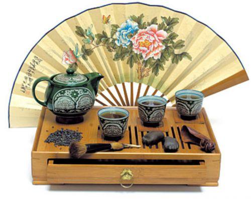 Приспособления для японской чайной церемонии
