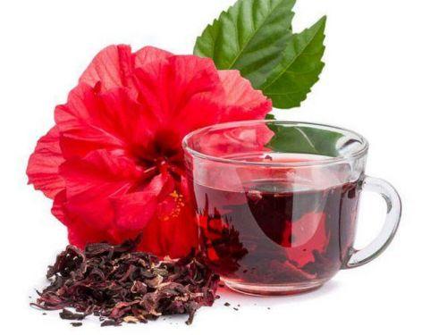 Напиток из цветков гибискуса