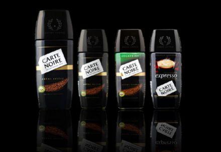 Ассортимент сублимированного кофе Карт Нуар