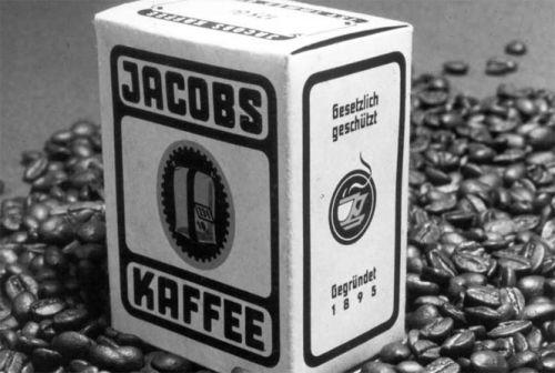Первая упаковка кофе Якобс