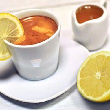 Кофе с лимоном и сыром