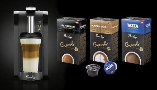 Капсульный кофе Паулиг
