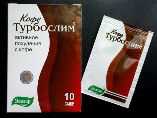 Кофе Турбослим для похудения в пакетиках