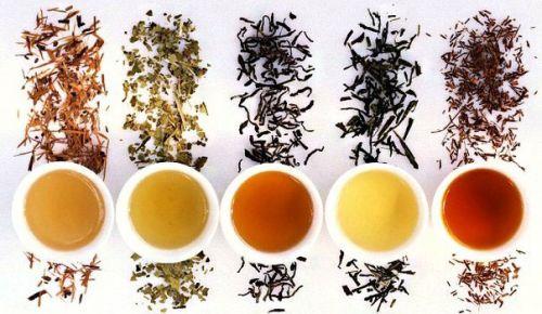 Виды китайских чаев