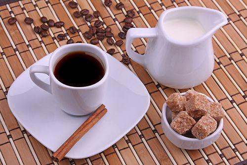 Кофе, сахар, сливки