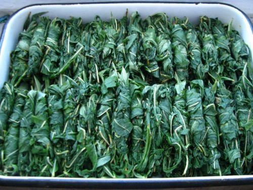 Этап ферментации в приготовлении копорского чая