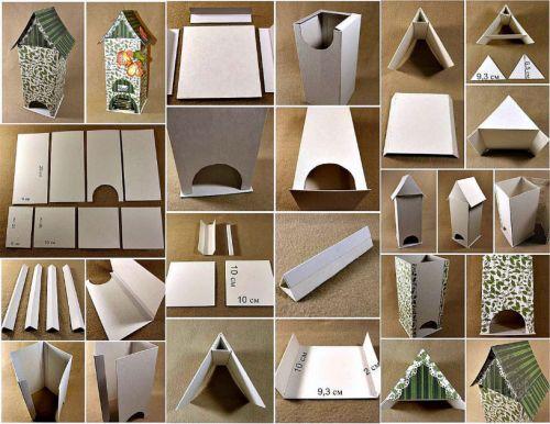 Поэтапное изготовление домика