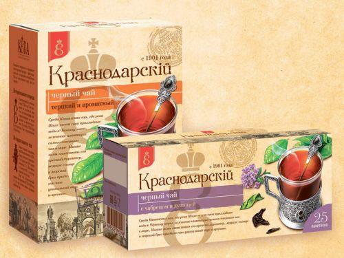 Краснодарский чай в упаковке