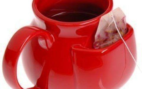 Чашка с карманом для чайного пакетика
