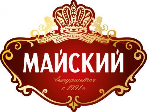 Логотип марки Майский чай