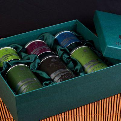 Чай в жестяной упаковке