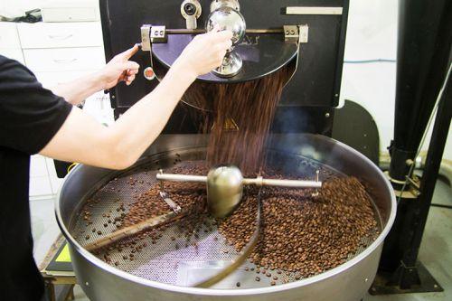 Оборудование для обжарки кофейных зерен