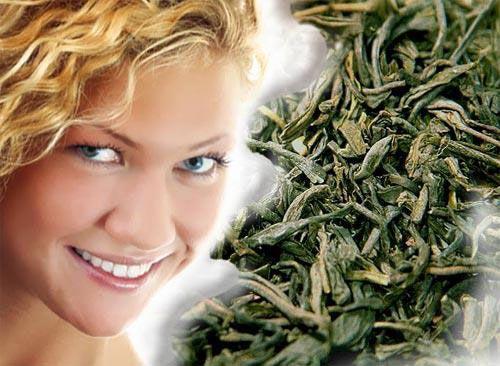 Зеленый чай для ухода за лицом