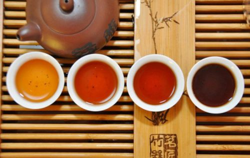 Цвета чая Пуэр